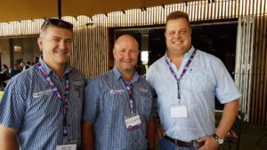 Attending the Hollard Highway Heroes launch function were Dieter Jensch (left) and Neil van der Westhuizen from Tip-Top Milk seen here with Pieter Nel (right) from Libra Insurance Brokers. This year will be the first time Tip-Top Milk will be entering some of its drivers – three from their total driver compliment of 60 - as the company sees the competition as a great value added project for drivers and operators alike acting as a motivational tool for all to improve standards with a resultant positive impact on road safety.