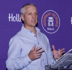 """""""Without truck drivers, our economy cannot function. They truly are the Unsung Heroes of South Africa"""" - Paul Dangerfield of the Trucking Centre of Excellence in Hollard Insure, Hollard's short-term insurance division, speaking at the launch of the 2018 competition."""
