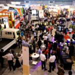 Tyrexpo 2018: The 7th Tyrexpo Africa event to be held in South Africa takes place at the Gallagher Convention Centre in Johannesburg this week from 10 – 12 April. This was a scene was one of the past events. This year's show has been enhanced with the addition of GarageXpoAfrica for the automotive repair sector.