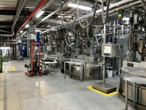 Thirty different greases are planned to be manufactured in the new Fuchs plant which consists of autoclave and open reactor technology to manufacture grease soap which is then finished in a number of finishing kettles.