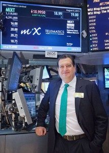 August 9th 2013 was a proud day for Stefan Joselowitz, CEO of MiX Telematics, when the company started trading on the New York Stock Exchange.