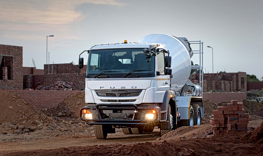 FUSO Trucks Southern Africa's entry into the construction sector was heralded in last year with the launch of the FUSO FJ26-280C. This workhorse ticks all the necessary boxes required in this demanding sector including a 9-speed transmission with a crawler gear as well as a Power Take Off (PTO) as a standard feature.