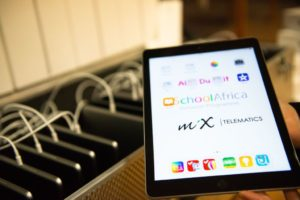 In partnership with iSchool Africa, MiX Telematics donated 50 Apple iPads and other technology equipment to both the Vera School for learners with autism and the Alta du Toit school for learners with intellectual and physical difficulties.