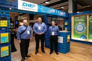 Congratulations to CHEP which walked away with the award for the best multiple unit stand at the SAPICS conference.