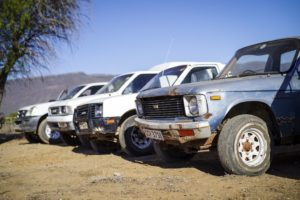 Generations of Isuzu bakkies spotted in Vredendal, Western Cape. From 1978 to 2018, the Isuzu bakkie has been an intricate part of South African life.