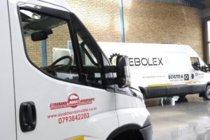 Panel vans are supplied by Eqstra to enterprises chosen for its tyre mobility solution.