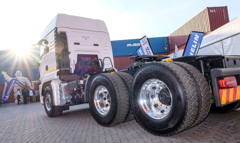 The new MICHELIN X® MULTITM HD D has been designed for long haul, regional trucking on urban roads and is claimed to offer 15% more mileage than its predecessor.