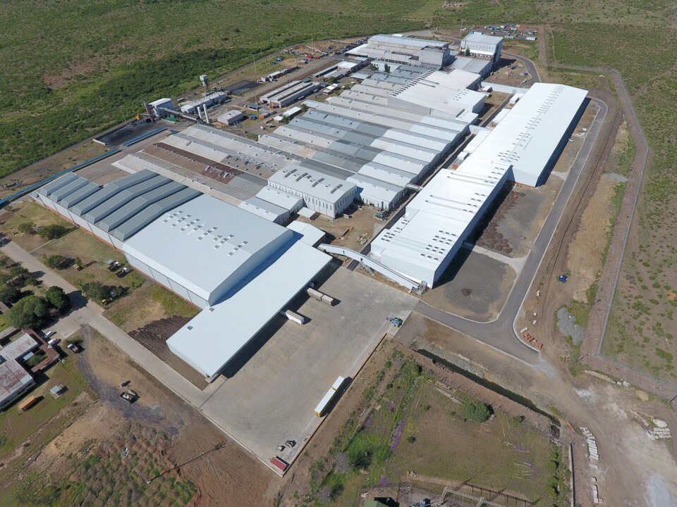 Production has started at Sumitomo Rubber South Africa's state-of-the-art truck and bus radial (TBR) tyre manufacturing plant in Ladysmith.
