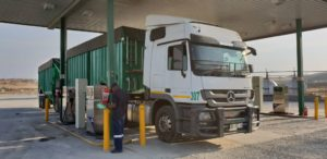 An early fill-up at the Tugela Truck Inn before the midnight fuel hike deadline saved this operator R730.44.