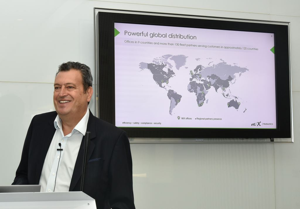 """Stefan Joselowitz, Group CEO of MiX Telematics. """"Growing our subscriber base and subscription revenue are key metrics for us, so achieving well over 700 000 subscribers is a great milestone."""""""
