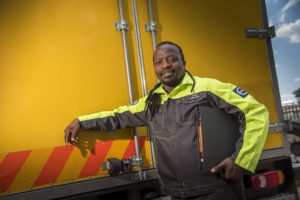 Thabo Ratshoene is participating in the Volvo Driver Learnership to advance his career and to realise his dream of one day becoming a driver trainer.