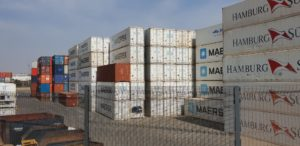 Many thousands of high-cube containers come in and out of our country every year. This is just a small section of just one of the many container terminals around the country.