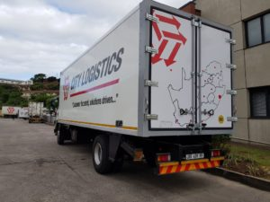 One of the eight Dry-Liner bodies built by Serco for Durban-based City Logistics.