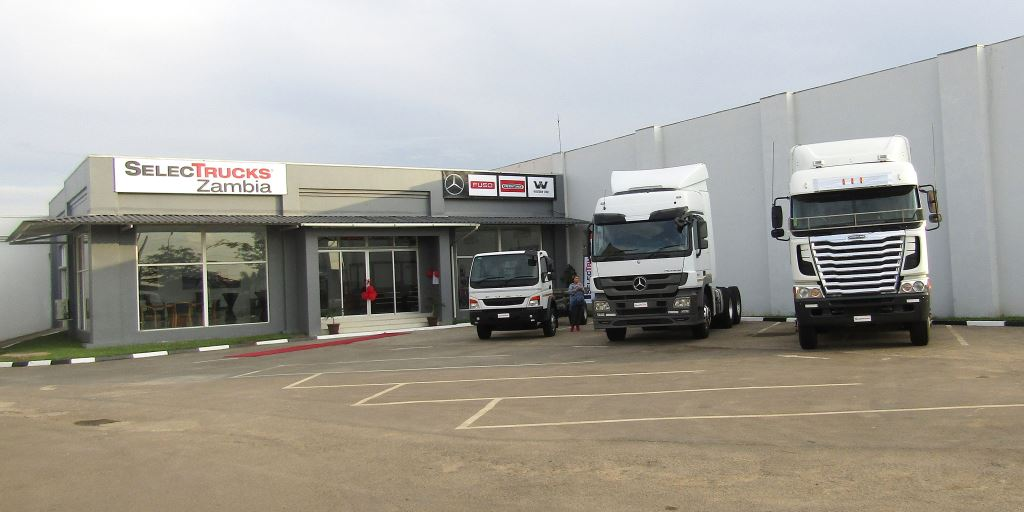 Looks pretty simple but there's a lot of expertise on used trucks at the new SelecTrucks Zambia dealership based in Lusaka.