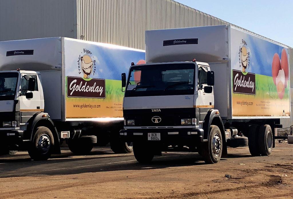 Golden Lay's egg carrier - built in Serco's Johannesburg factory.
