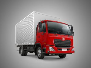 The new Kuzer light heavy commercial truck which has been added to the UD Trucks line-up.