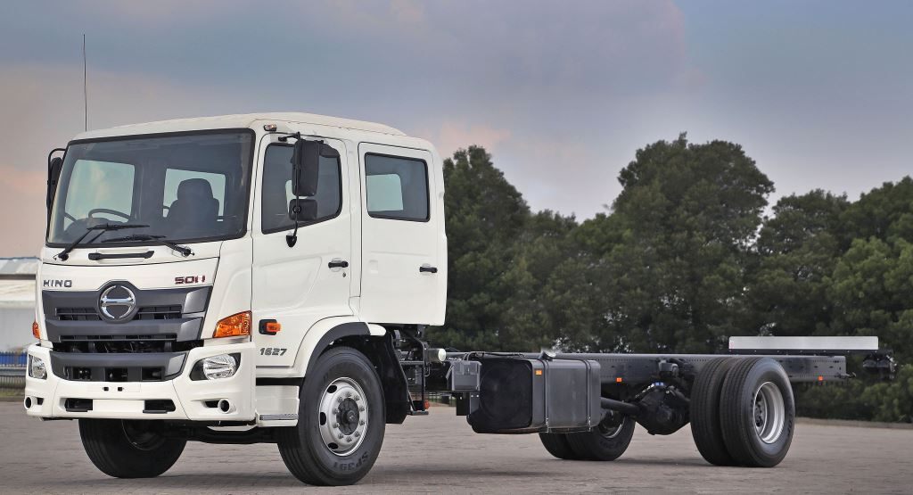The Hino 500 Wide Cab range of heavy commercial trucks was enhanced earlier this year with the addition of two 1627 crew cab derivatives. Backing up the product with professional services is a top priority as evidenced by Hino taking top spot in the Combined score in the Data Track comparative truck study. Well done Hino