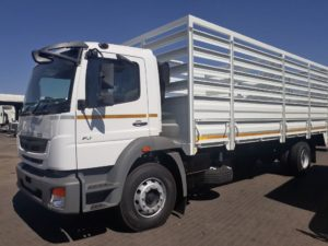 One of the Fuso models on show at NAMPO will be the FUSO FJ 16-230 L Cattle Body