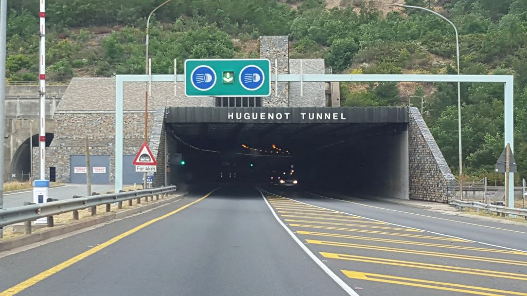 The entrance to the Huguenot Tunnel on the N1 - a sight which thousands of trucks drivers are familiar with. After 31 years of continuous and safe operation, the electrical and mechanical systems have neared end of life and are in need of replacement to ensure compliance to international safety standards. Thus the upgrades currently taking place.