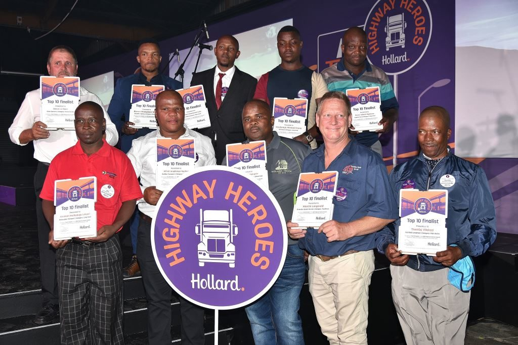You can see the nervous looks on some of the faces of the top 10 finalists just before the announcement of the Category winners and the Overall Hollard Highway Hero for 2019. FleetWatch congratulates them all.