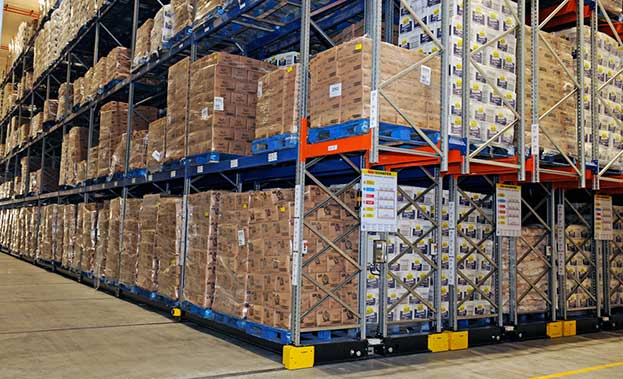 Added strain has been added to many warehouse operations during the lockdown by the need for warehousing staff to work split shifts to reduce the risk of COVID-19 infection. This is Imperial Cold Logistics' warehouse in Linbro Park, one of the largest cold storage facilities in Africa, housing 37 000 pallets, operating 24/7 and offering flexible chambers that can be used for chilled, frozen and super frozen products, depending on clients' requirements.