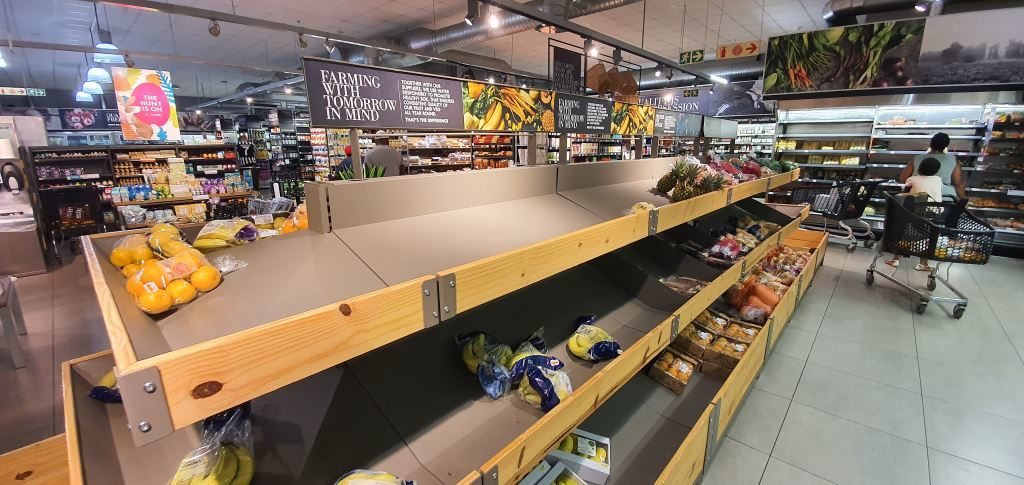 Working together during the lockdown, various links in the supply chain have ensured that when shelves are emptied of stock, they don't remain that way and are quickly refilled for consumers.