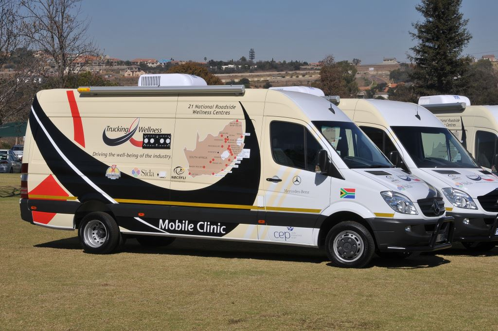 Trucking Wellness mobile clinics have been offered to the Department of Health to roll out vaccinations to road freight industry employees as well as the communities around the Wellness Centres nationwide.