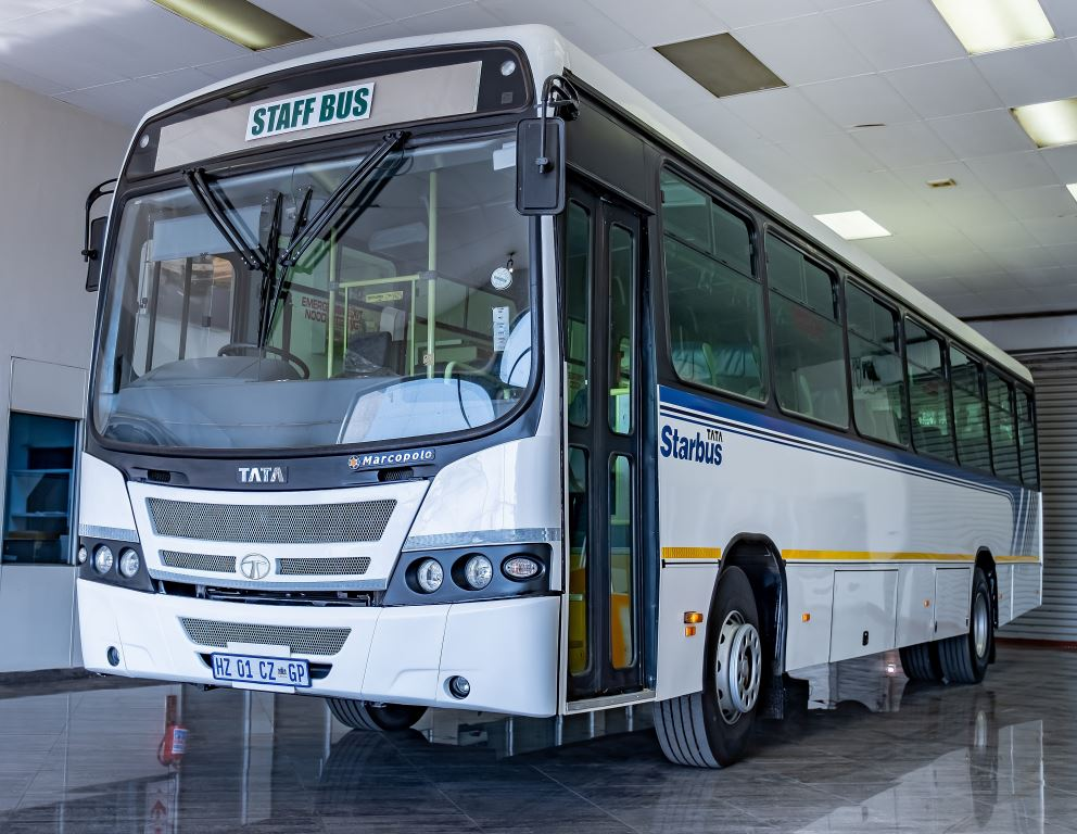 The five-year warranty also applies to the Tata bus range.