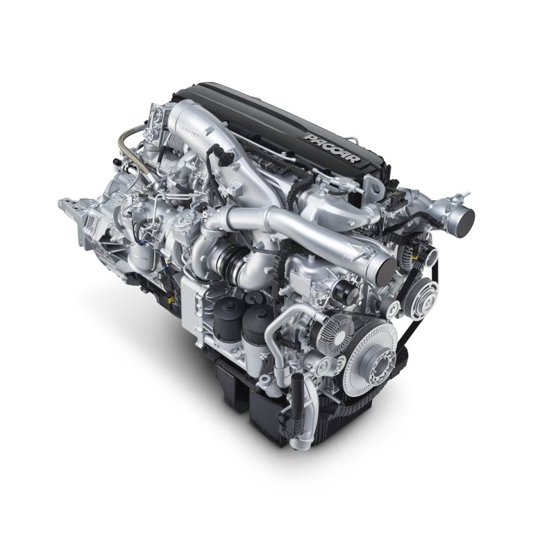Central to the new trucks' transport efficiency is a multi-torque PACCAR MX-13 engine offering more torque at lower revolutions per minute (rpm) for higher fuel efficiency and lower noise levels. Supplied standard with both the CF and XF m0odels is the latest generation TraXon automated gearbox.