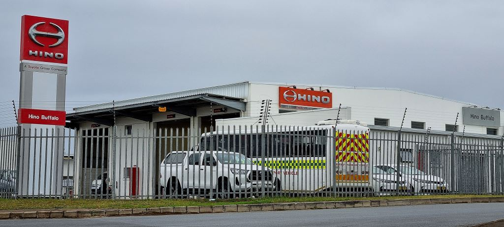 The Hino Buffalo dealer premises. This is the first time this dealership has made it into the top three of the MSX (previously Sewell's) NADA Business of the Year (BOTY) awards