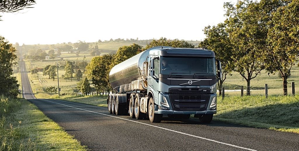 The Volvo FM day cab.