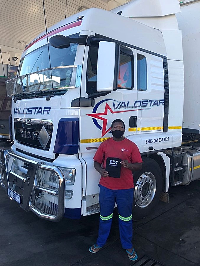 """""""Given the long hours many truck drivers spend on the road and the stress associated with the job, these sorts of initiatives form a critical pillar of support for the trucking community."""" - Nigel Fox, owner of Gone South Truck Stop in Gqeberha"""