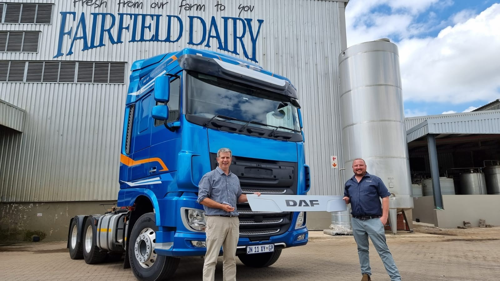 David Street, MD of Fairfield Longhaul, says that DAF's excellent reliability and fuel efficiency, as well as Fairfield's exceptional relationship with the Babcock sales and after-sales support teams, are some of the motivating factors for its continued support of the DAF brand.