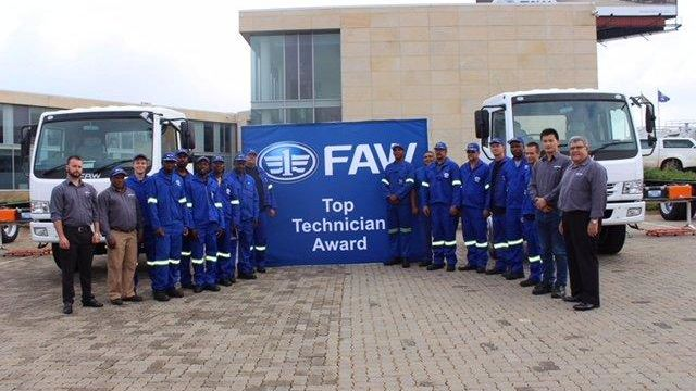 Various training and technical improvement courses, from beginner to advanced, have been implemented by FAW SA – this skills development is central to improving after-sales customer experience.